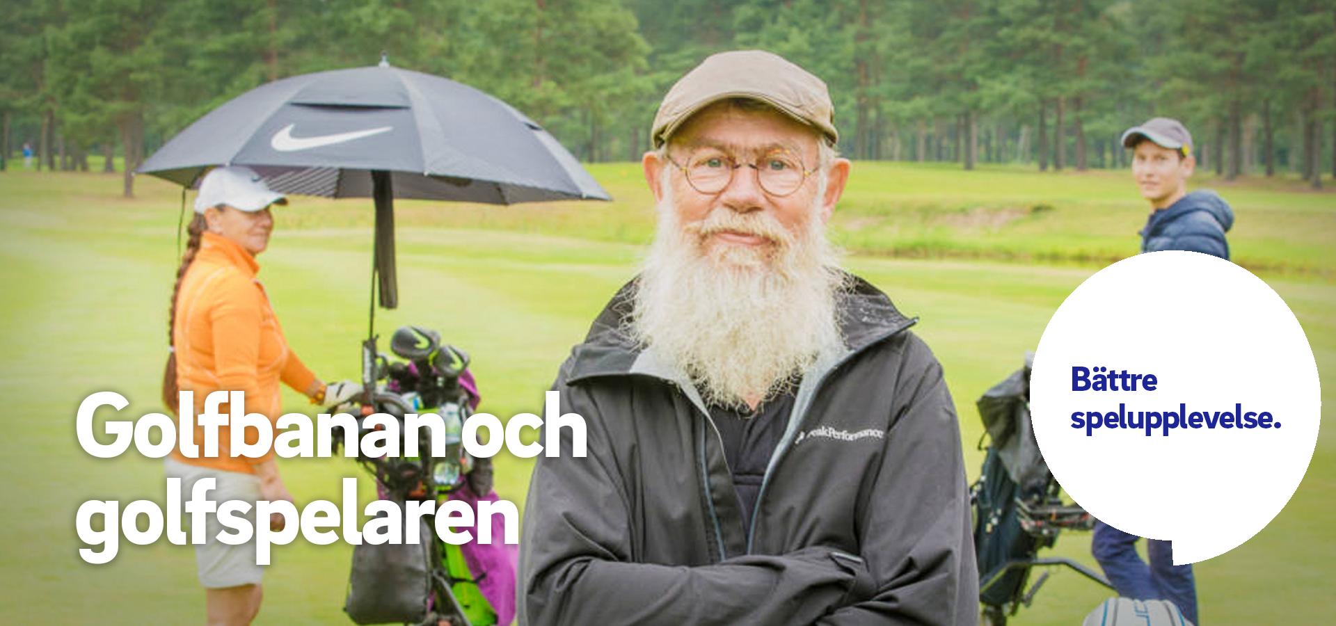 1. Golfspelaren och golfbanan.